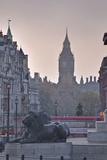 Trafalgar Square and Big Ben at Dawn, London, England, United Kingdom, Europe Photographic Print by Julian Elliott