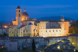 Ducal Palace at Night, Urbino, Le Marche, Italy, Europe Photographic Print by Miles Ertman