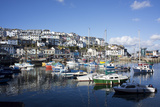 Harbour, Brixham, Devon, England, United Kingdom Photographic Print by Peter Groenendijk