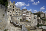 View of the City of Matera in Basilicata, Italy, Europe Photographic Print by Olivier Goujon