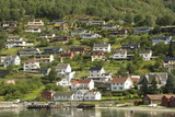 Aurlandsvangen, Aurlandsfjord, Sognefjord, Norway, Scandinavia, Europe Photographic Print by Tony Waltham