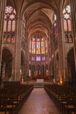 The Interior of Saint Denis Basilica in Paris, France, Europe Photographic Print by Julian Elliott