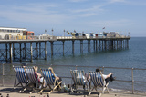 A View of the Pier, Teignmouth, Devon, England, United Kingdom, Europe Photographic Print by James Emmerson