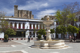 Plaza Mayor and La Colegiata, Osuna, Andalucia, Spain, Europe Photographic Print by Stuart Black