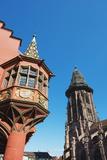 Kaufhaus in Munsterplatz, Freiburg, Baden-Wurttemberg, Germany, Europe Photographic Print by Christian Kober