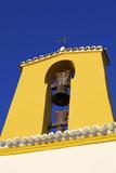 Church and Belfry, Santa Gertrudis, Ibiza, Balearic Islands, Spain, Europe Photographic Print by Neil Farrin