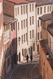 People Walking Through the Old Part of the City of Lyon, Lyon, Rhone-Alpes, France, Europe Photographic Print by Julian Elliott