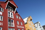 Converted Warehouses Along Harbour Front, Tromso, Troms, Norway, Scandinavia, Europe Photographic Print by David Lomax