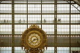 Musee D'Orsay Clock, Paris, France, Europe Photographic Print by Neil Farrin