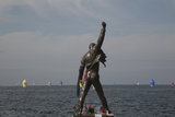 Statue of Freddy Mercury, Montreux, Canton Vaud, Switzerland, Europe Photographic Print by Angelo Cavalli