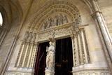 Sainte-Chapelle Exterior Detail, Paris, France, Europe Photographic Print by Neil Farrin