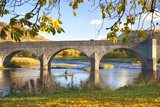 River Wye and Bridge, Builth Wells, Powys, Wales, United Kingdom, Europe Photographic Print by Billy Stock