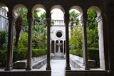Courtyard Inside Franciscan Monastery-Museum Photographic Print by Matthew Williams-Ellis