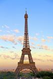 Eiffel Tower, Paris, France, Europe Lámina fotográfica por Neil Farrin