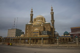 Jalil Khayat Mosque in Erbil (Hawler), Capital of Iraq Kurdistan, Iraq, Middle East Photographic Print by Michael Runkel