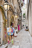 Dubrovnik Old Town, One of the Narrow Side Streets, Dubrovnik, Croatia, Europe Photographic Print by Matthew Williams-Ellis
