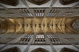 The Vaulted Ceiling of Vendome Abbey, Loire-Et-Cher, Centre, France, Europe Photographic Print by Julian Elliott