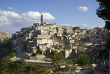 View of Matera from the Church, Matera, Basilicata, Italy, Europe Photographic Print by Olivier Goujon