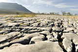 Limestone Pavements Above Southerscales Scars Photographic Print by Tony Waltham