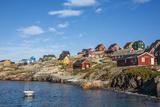 Inuit Village, Ittoqqortoormiit, Scoresbysund, Northeast Greenland, Polar Regions Photographic Print by Michael Nolan