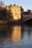 Lendal Tower and the River Ouse at Sunset, York, Yorkshire, England, United Kingdom, Europe Photographic Print by Mark Sunderland