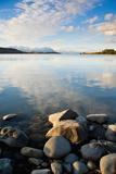 Lake Tekapo at Sunset, Southern Lakes, Canterbury Region, South Island, New Zealand, Pacific Photographic Print by Matthew Williams-Ellis