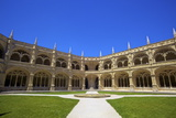 Cloisters, Mosteiro Dos Jeronimos, Lisbon, Portugal, South West Europe Photographic Print by Neil Farrin