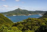 The Pago Pago Harbour, Tutuila Island, American Samoa, South Pacific Photographic Print by Michael Runkel