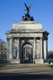 Wellington Arch, Hyde Park Corner, London, England, United Kingdom, Europe Photographic Print by James Emmerson