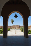 Arch at El Badi Palace, Marrakech, Morocco, North Africa, Africa Photographic Print by Matthew Williams-Ellis