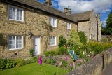 Plague Cottages, Eyam, Derbyshire, England, United Kingdom, Europe Photographic Print by Frank Fell