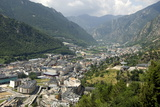 Andorra La Vella, Capital City of Andorra State Photographic Print by Tony Waltham