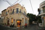 Street Scene at the Trendy Neve Tzedek Neighbourhood, Tel Aviv, Israel, Middle East Photographic Print by Yadid Levy