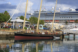 Spirit of Bermuda Sloop in the Royal Naval Dockyard, Sandys Parish, Bermuda, Central America Photographic Print by Richard Cummins