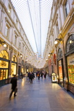 Galleries St. Hubert, Brussels, Belgium, Europe Photographic Print by Neil Farrin