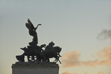 Detail of Wellington Arch, Hyde Park Corner, London, England, United Kingdom, Europe Photographic Print by James Emmerson