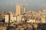 View over Havana Centro Showing the City's Dilapidated Buildings Photographic Print by Lee Frost