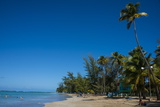 Luquillo Beach, Puerto Rico, West Indies, Caribbean, Central America Photographic Print by Michael Runkel