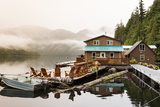 Great Bear Lodge, Great Bear Rainforest, British Columbia, Canada, North America Photographic Print by Michael DeFreitas
