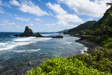 East Coast of Tutuila Island, American Samoa, South Pacific, Pacific Photographic Print by Michael Runkel