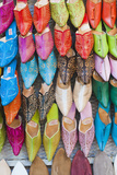 Colourful Babouche for Sale in Thesouks in the Old Medina Photographic Print by Matthew Williams-Ellis