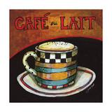 Cafe Au Lait Giclee Print by Jennifer Garant