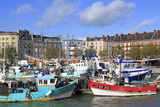 Fishing Fleet in Le Havre, Normandy, France, Europe Photographic Print by Richard Cummins