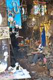 Carpenter and Metalworker in His Workshop in the Souk Photographic Print by Matthew Williams-Ellis