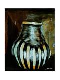 African Vessel III Giclee Print by Jennifer Garant