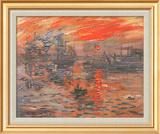 Impression, Sunrise Print by Claude Monet