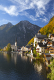 Hallstatt, UNESCO World Heritage Site, Salzkammergut, Austria, Europe Photographic Print by Miles Ertman