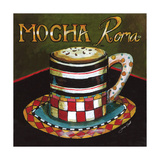 Mocha Roma Giclee Print by Jennifer Garant