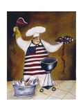 Chef Angus Giclée-tryk af Jennifer Garant