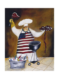 Chef Angus Giclee Print by Jennifer Garant